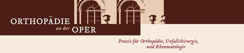 Orthopädie an der Oper